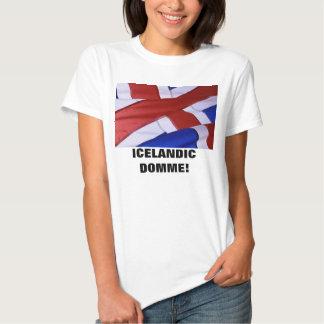 ICELANDIC DOMME! T SHIRTS