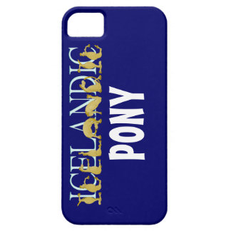 Icelandic flexible alphabet pony case for the iPhone 5