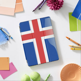 Icelandic glossy flag iPad air cover