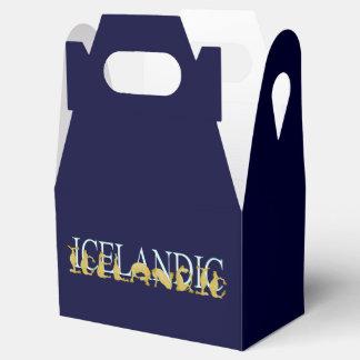 Icelandic horse favor boxes