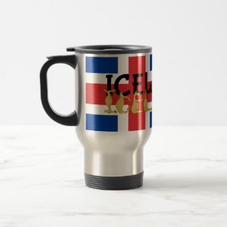 Icelandic Horse | Flag of Iceland Travel Mug
