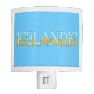 Icelandic horse night lights