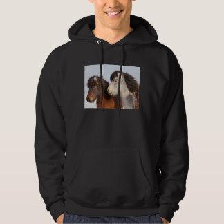 Icelandic Horse profile, Iceland Hoodie
