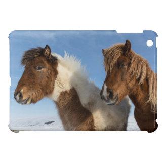 Icelandic horses iPad mini cover