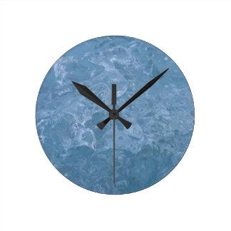 Icelandic Iceberg Round Clock