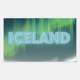 Icelandic Northern Lights Travel Art