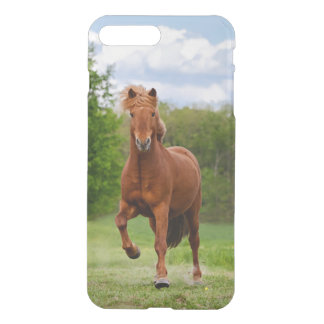 Icelandic Pony at a Tölt Funny Photo Horse Lovers iPhone 8 Plus/7 Plus Case