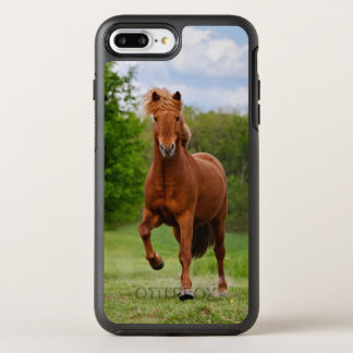 Icelandic Pony at Tölt Funny Photo Horse Lovers _ OtterBox Symmetry iPhone 8 Plus/7 Plus Case