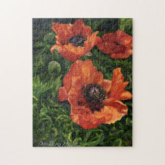 """Icelandic Poppies"" Jigsaw Puzzle"