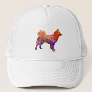 Icelandic Sheepdog in watercolor Trucker Hat