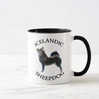 Icelandic Sheepdog owner 11oz. mug. Stylized dog. Mug
