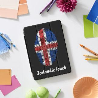 Icelandic touch fingerprint flag iPad air cover