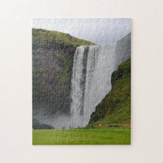 Icelandic Waterfall puzzle