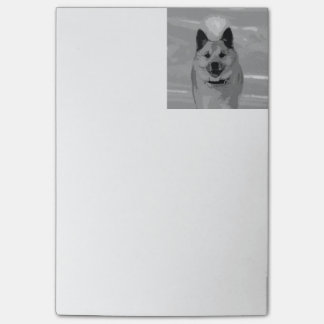 IcelandicSheepdog20151203 Post-it Notes