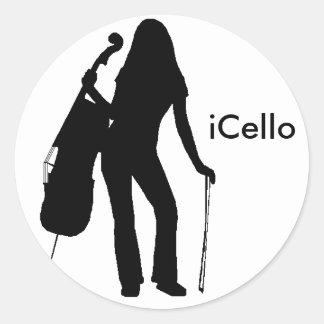 iCello Sticker