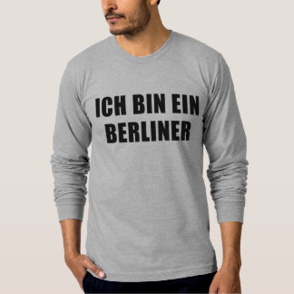 Ich Bin Ein Berliner T-Shirt