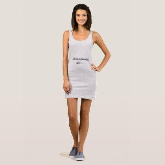 ich bin verheiratet river mouth sleeveless dress