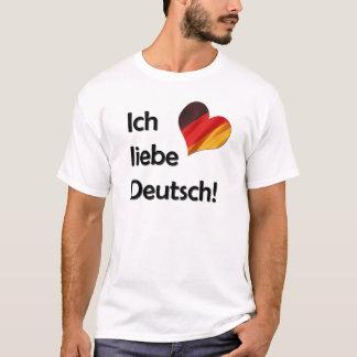 Ich liebe Deutsch T-Shirt