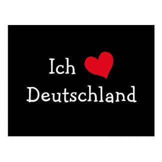 Ich liebe Deutschland Postcard