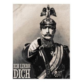 Ich Liebe Dich - I love You Postcard