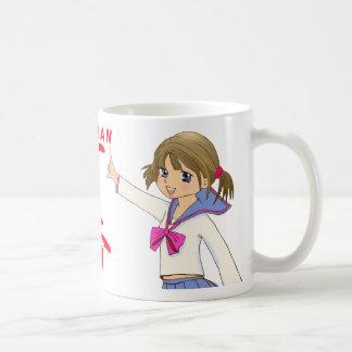 ICHIBAN RED Sera Fuku MOE GIRL Coffee Mug