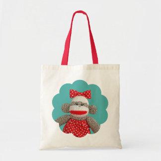 Ichigo the Sock Monkey Bag