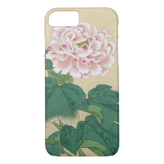 Ichimiosai Bee And Peony Floral Vintage Fine Art iPhone 7 Case