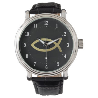 Ichthus - Christian Fish Symbol - Small Fishes Wristwatches