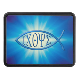 Ichthus - Christian Fish Symbol Trailer Hitch Cover