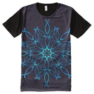Ichthus Mandala All-Over-Print T-Shirt