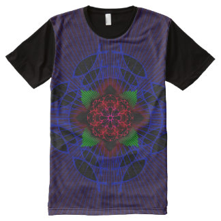 Ichthus Rose All-Over-Print T-Shirt