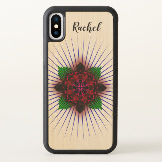 Ichthus Rose iPhone X Case