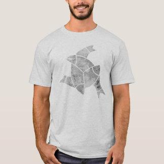 Ichthys - 3 fish Jesus Fish Trinity Shirt