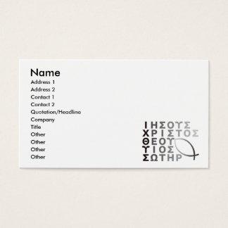Ichthys Business Card