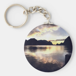Icmeler Seascape Basic Round Button Keychain