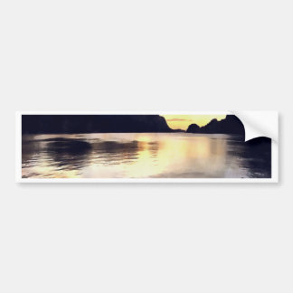 Icmeler Seascape Bumper Sticker