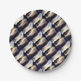 Icmeler Seascape Paper Plate
