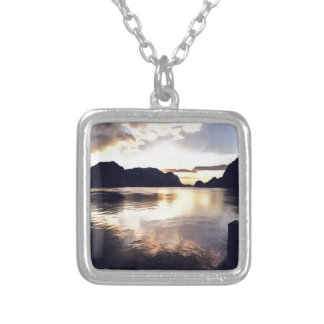 Icmeler Seascape Silver Plated Necklace