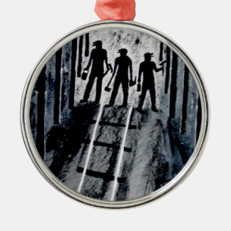 ICoal Miners At Work G_0221.JPG Metal Ornament
