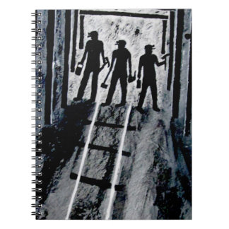 ICoal Miners At Work G_0221.JPG Spiral Notebook