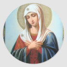 ICON (32)mary mother of good Classic Round Sticker