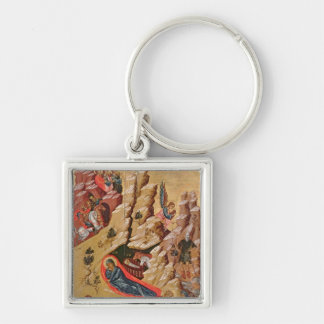 Icon depicting the Nativity Keychain