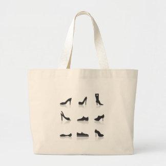 Icon footwear large tote bag