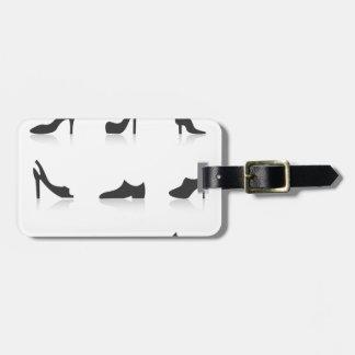 Icon footwear luggage tag