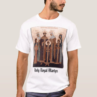 Icon of Holy Royal Martyrs T-Shirt