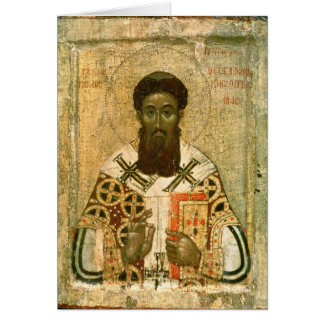 Icon of St. Gregory  Archbishop of Thessaloniki Card