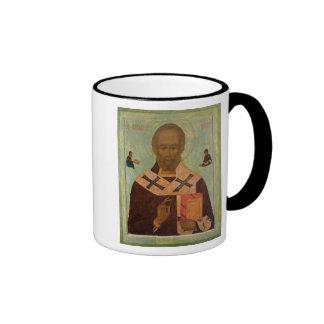 Icon of St. Nicholas Ringer Mug