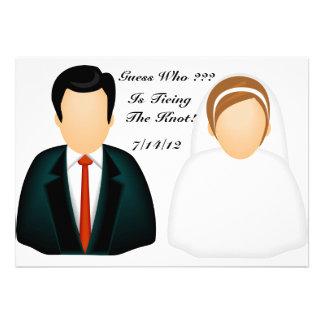 Icon Wedding Announcement