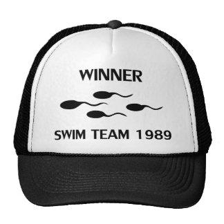 icône 1989 d'équipe de natation de gagnant casquette de camionneur