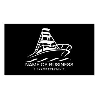 icône de bateau carte de visite